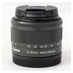 Canon-EF-M-15-45mm-F-3-5-6-3-IS-STM-Lens-Black-Bulk-Package
