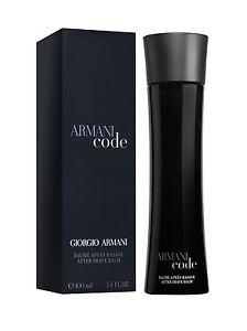 f785da1bf80e Giorgio Armani Code After Shave Balm 100ml for sale online