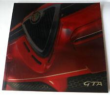 Alfa Romeo 156 GTA Quality High Shine Foil Italian Brochure 2001 Mint Condition