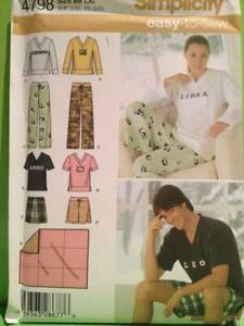 7450 Simplicity SEWING Pattern Misses Blouse Pants UNCUT