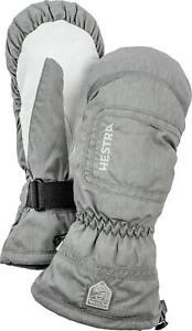 2020-HESTRA-C-Zone-Powder-Female-Ladies-Ski-Mitten-Size-7-Grey-32621-waterproof