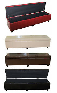 xxl sitzbank sitztruhe bank aufbewahrungstruhe truhe. Black Bedroom Furniture Sets. Home Design Ideas