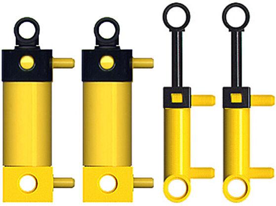 4 Lego Lego Lego Pneumatic Cylinders Kit (technic,mini,switch,air,t,hose,tubing,pump) d70657