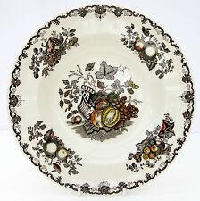 Vintage 1950s Mason's Fruit Basket Rimmed Soup Bowl Dish