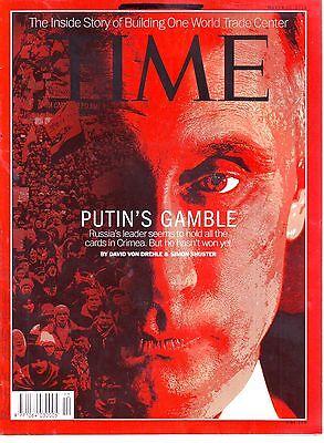 TIME 17 MARCH 2014 MAG PUTIN'S GAMBLE