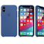 Para-Apple-iPhone-XS-Max-XR-6-7-de-8-PLUS-de-silicona-suave-cubierta-estuche-original-de-Fabricante miniatura 21