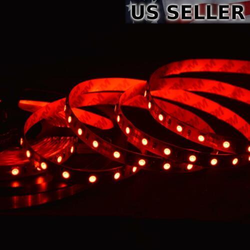High Brightness SMD 5050 ABI 300 LED Strip Light 5M 12V Red