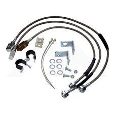 """STAINLESS STEEL Brake Hose Kit UPTO 6"""" Lift for Jeep Wrangler YJ TJ Cherokee XJ"""