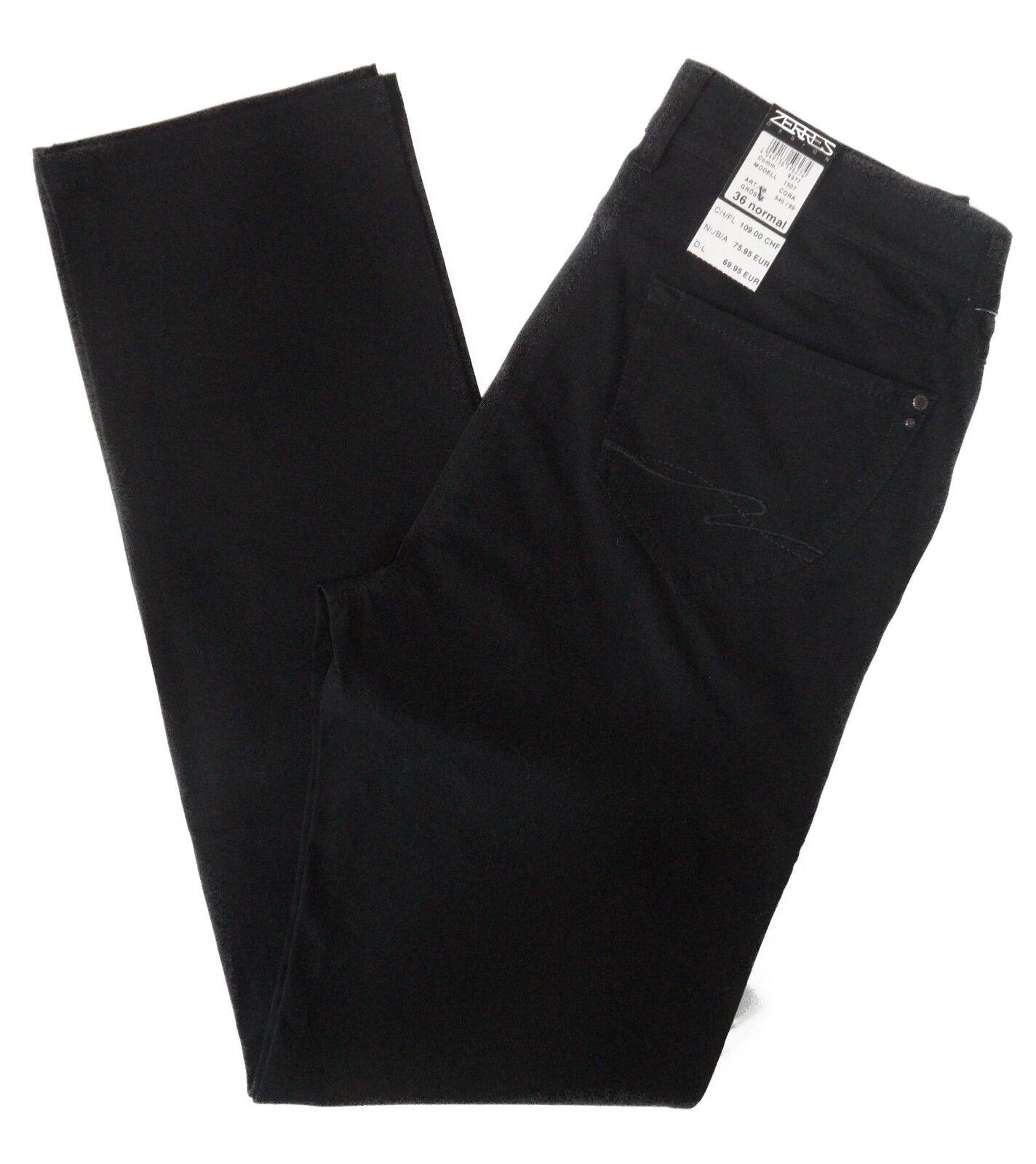 Zerres Damen Jeans Cora 1507 540 99 schwarz NEU Alle Größen Längen