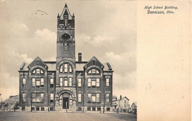 Dennison, Ohio Antique Postcard (T653)