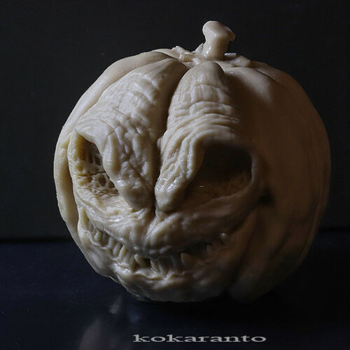 Halloween decoration PumpkinHead 47 mm 1.85 inches suitable for 1//6 scale figure