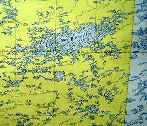 Quebec Topographic Map.Canadian Government Topographic Map Fort George River Quebec