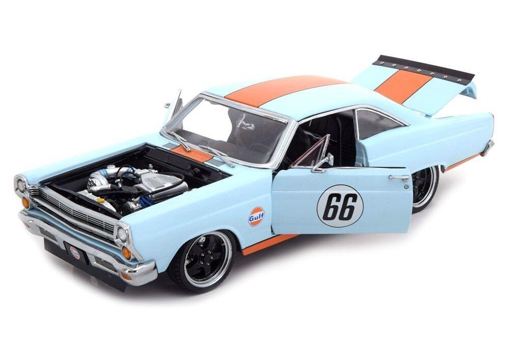 echa un vistazo a los más baratos GMP 1967 Ford Fairlane Gulf Oil luz azul le 600 600 600 un. 1:18New artículo  Muy Buena  Felices compras