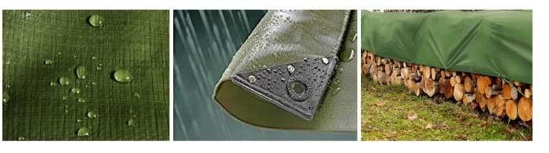 TELO TELONE IN PVC verde 280 GR ANGOLI RINFORZATI 3X4 METRI