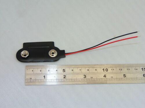 1 x PP1 PP9 BATTERY CLIP Connector for 6-9 volt large lantern batteries