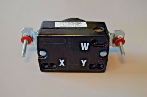 3P-3W NON GRD BRYANT-HUBBELL 7310 LOCKING SINGLE RECEPTACLE 20A 125//250V