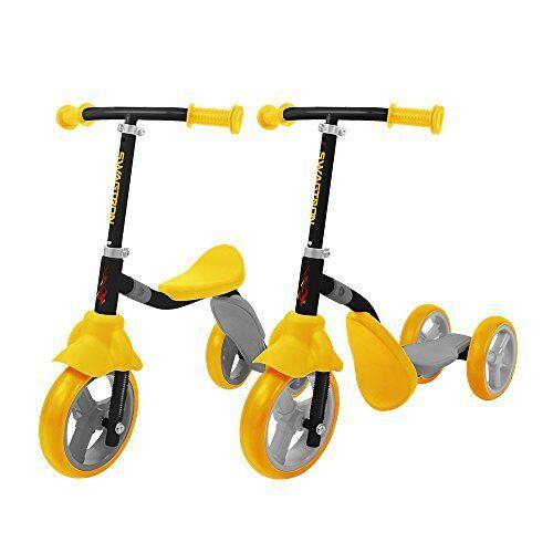 ❤ Toy Kids Ride On K2 Toddler 3 Wheel Kick Scooter /& Balance Trike 2-In-1 Adjust
