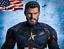 """1//6 Chris Evans Captain America Head Sculpt en colère pour Hot 12/"""" Toys PHICEN ❶ USA ❶"""