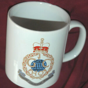Vtg-Government-Communications-Headquarters-COFFEE-MUG-Cup-RARE-SPY-UK-England