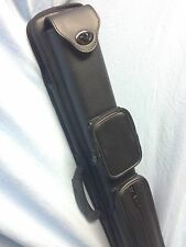 J&J Vincitore Black Combo Pool Cue Case For 2 Butts And 4 Shafts 2x4 !!!