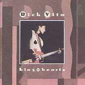 "RICK VITO, CD ""KING OF HEARTS"" NEW SEALED"