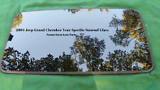 2004 JEEP CHEROKEE YEAR SPECIFIC OEM FACTORY SUNROOF GLASS  FREE SHIPPING