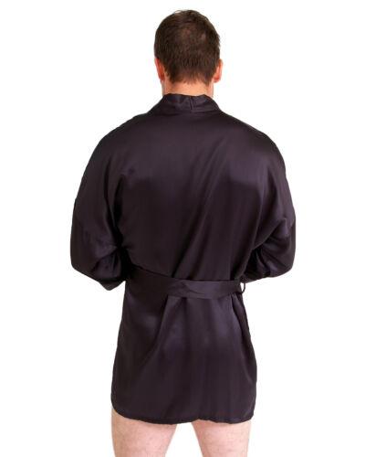BNWT Mens Short Silk Kimono!