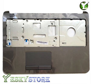 NEW-760961-001-Hp-15-G-Palmrest-Touchpad-Top-Cover-upper-case-Grey-Color