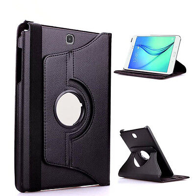 "Cases, Covers, Keyboard Folios Protector Para Samsung Galaxy Tab S2 9.7"" T810 T815 Giratoria 360º Negro Funda"