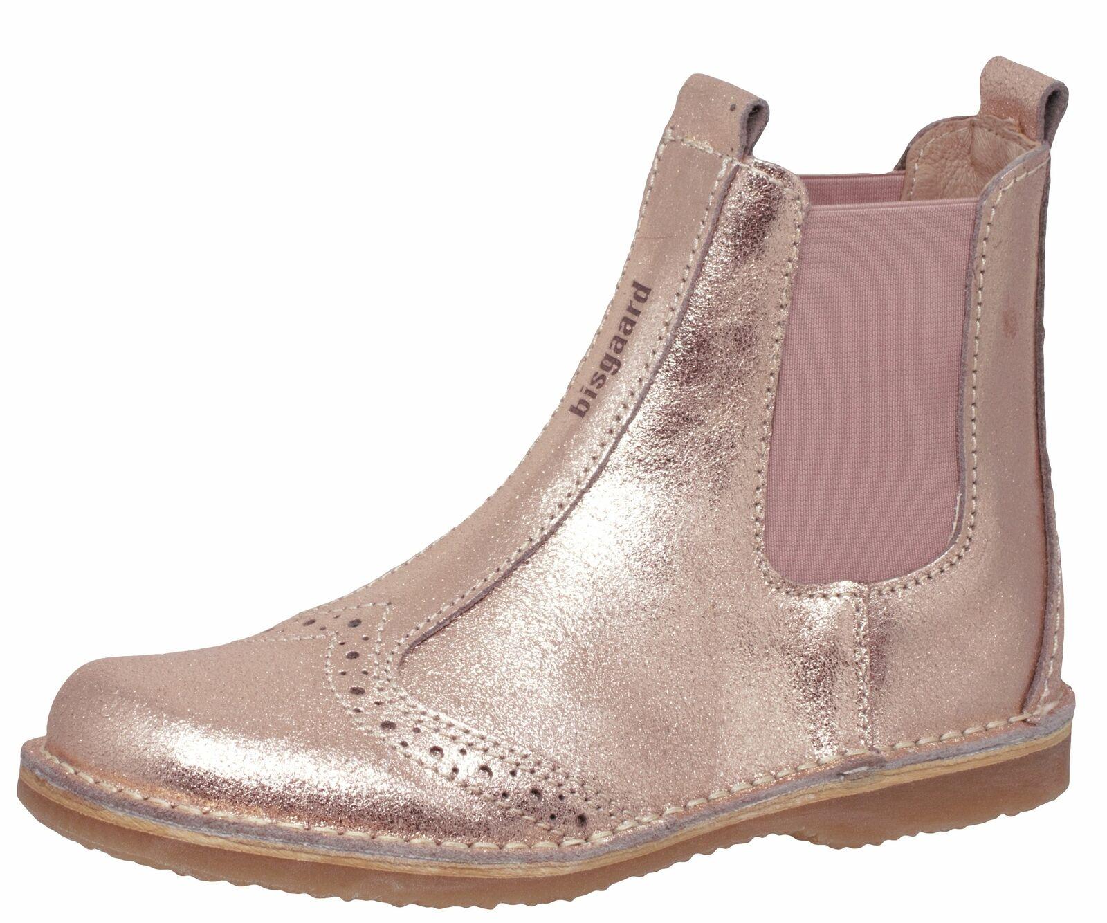 Chelsea Boots Masi Bisgaard 50241 Mädchen Pink Rosa Gold Gr. 31 38 Neu