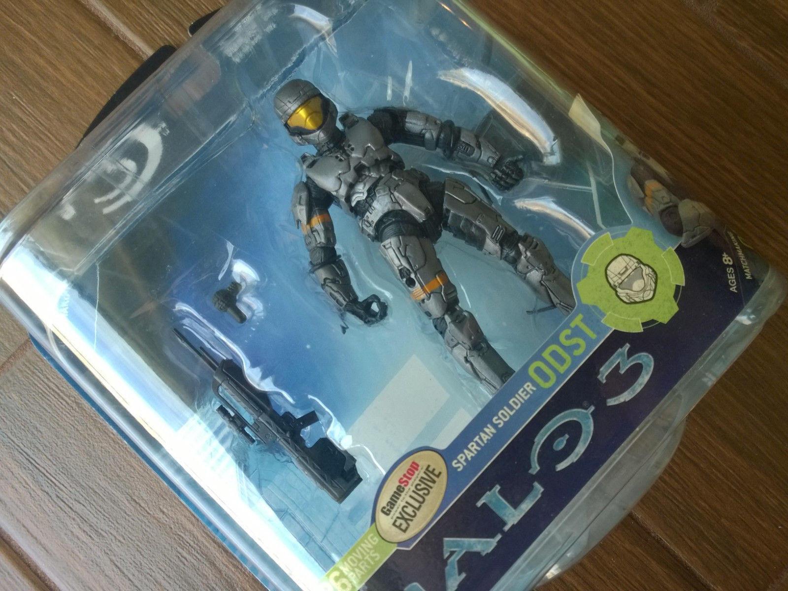 Gamestop Exclusive Halo 3 série 2  En Acier Tournage  Action Figure, XBOX 360 NEW Comme neuf