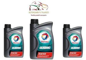 OLIO-TOTAL-CLASSIC-5W40-SINTETICO-Lt-3-LITRI-Sintetico-motori-diesel-e-benzina