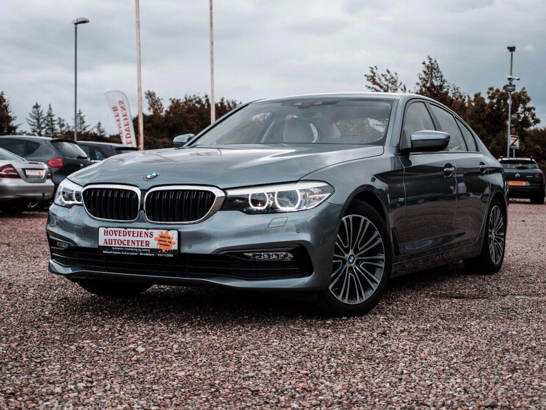 BMW 520d 2,0 aut. ED 4d