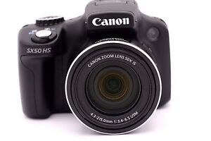 Canon Powershot Sx50 Hs 121 Mp Digitalkamera 50 X Optisch