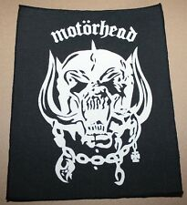Motörhead, Warpig ,  small printed Backpatch, Vintage 70's / 80's, rar, rare