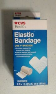 Cvs Elastic Bandage 4 Inch X 1 8 Yards 50428412503 Ebay