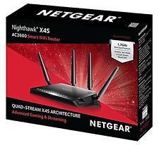 NETGEAR R7800-100UKS, Nighthawk X4S Smart WiFi Broadband Router, AC2600
