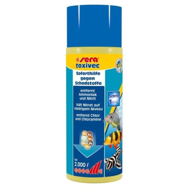 500 ml sera toxivec - Schadstoffentferner - Soforthilfe gegen Schadstoffe  03003