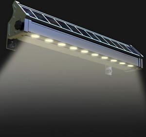 Faro a energia Solare a Led illuminazione ambienti esterni lampione luce calda