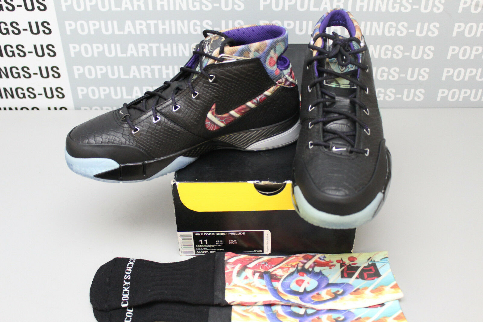 Nike Zoom Kobe I Prelude 640221 001 Sz 11 VNDS! Special limited time