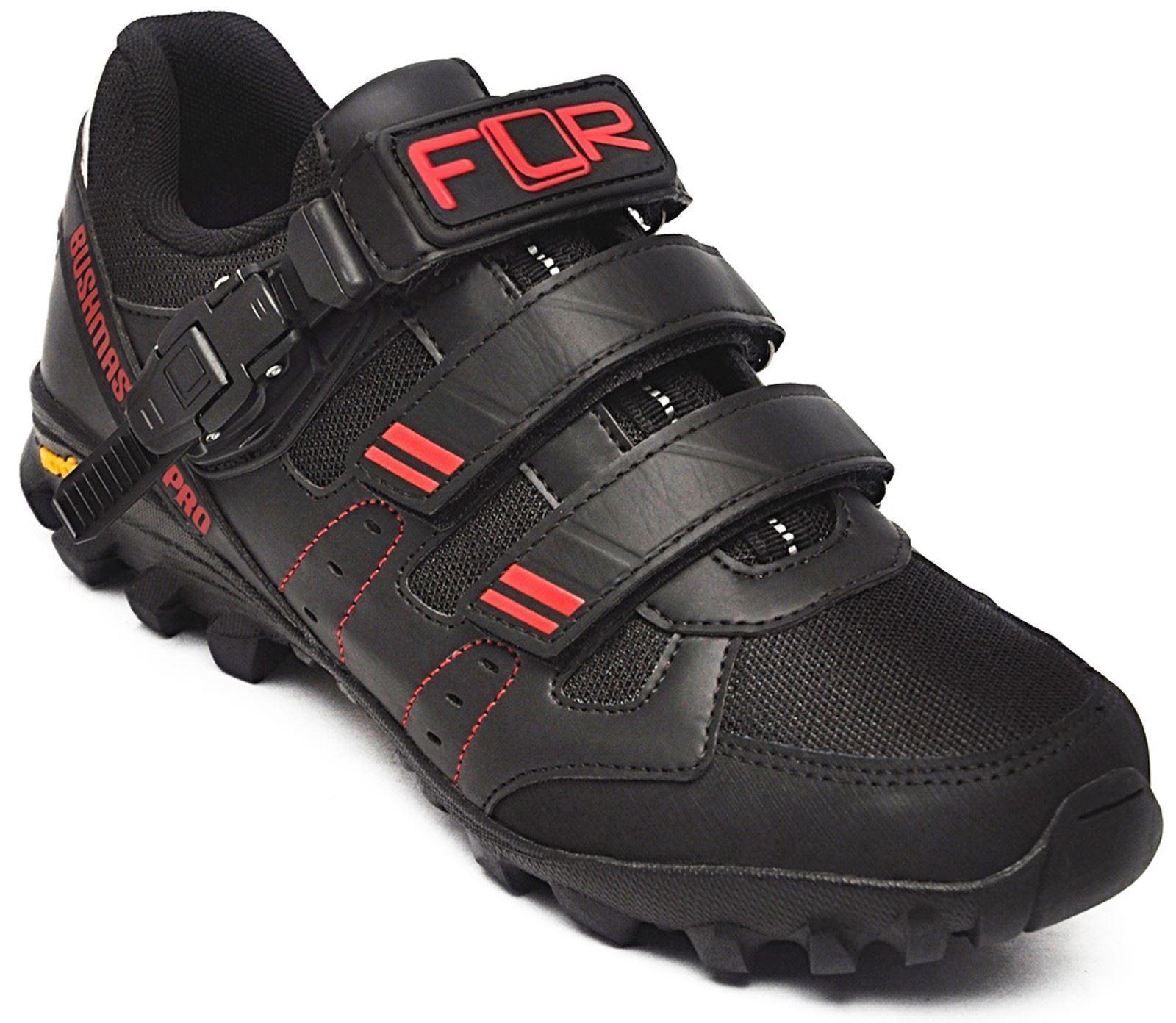 Flr Flr Flr Bushmaster pro MTB / Trial Zapato Negro/Hebilla de Plata & Cierre Talla 45 71bcd2