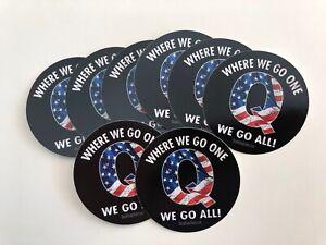 Qanon-Trump-WWG1WGA-Vinyl-Stickers-Decals-Q-DECALS-10-Pack