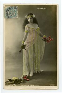 C 1906 Risque n/ Nude French RPPC Photo Postcard YOUNG