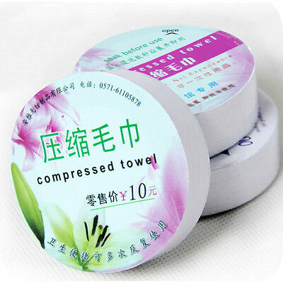 Portable Large Face Care Cotton Compressed towel For Outdoor Travel Nondisposabl