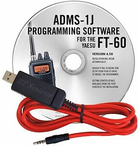 Rt Systems Programming Software Amp Usb Cable For Yaesu Ft