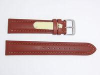 "DI-Modell Genuine Calfskin Leather 20 mm BROWN Watch Band ""GAUCHO CHRONO"""