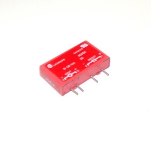 GORDOS  M-0DC15  SOLID STATE RELAY 3 AMP 9-18 VDC LOGIC  3 AMP 60 VDC