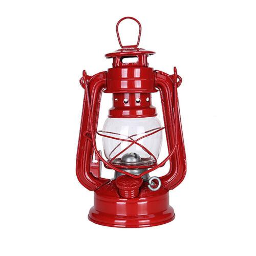 Multicolor Retro Hurricane Lamp Emergency Light Oil Lantern Hanging Kerosene