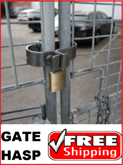 ABUS Gatesec Gate Lock - Hasp For Cyclone Fences EXTRA HEAVY DUTY