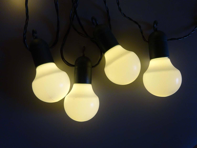 LED Lichterkette Party Biergarten 20 o. 50 LEDs LEDs LEDs warmweiß o. kaltweiß f. Außen   Verbraucher zuerst    Gemäßigten Kosten    Für Ihre Wahl  dc7f61
